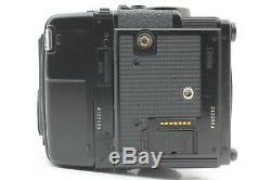 N. Mint ZENZA BRONICA GS-1 withAE Finder PG 100mm f/3.5 Lens Grip 120 Film Back