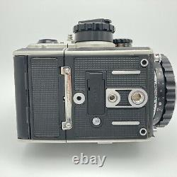N. Mint Zenza Bronica EC Medium Format film Camera body film back from JPN #643