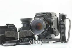 N Mint+ + with2backs Mamiya RB67 Pro S Sekor C 127mm + Chimney Meter From JAPAN