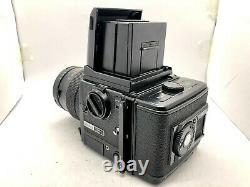 Near MINT Bronica GS-1 + Waist Level Finder + PG 110mm F4 Lens 120 Back JAPAN