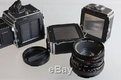 Near MINT+++ Hasselblad 503 CX with Planar T CF 80mm f2.8 A12 Film Back JAPAN