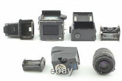 Near MINT MAMIYA 645 Pro + AE Finder + C 55mm f2.8 N + 120 Back From JAPAN