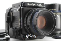 Near MINT Mamiya RZ67 Pro II + 110mm f/2.8 + 180mm f/4.5 + 120 Back From JAPAN