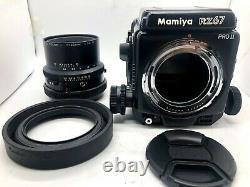 Near MINT Mamiya RZ67 Pro II + Sekor Z 90mm f3.5 W + 120 Film Back from JAPAN