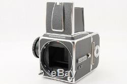Near MintHasselblad 500CM 500C/M Medium Format Body + A12 Film Back From JAPAN