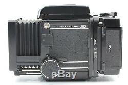 Near Mint 3 Lens MAMIYA RB67 Pro SD with 50mm 127mm 250mm Film Back From JAPAN