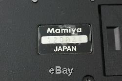 Near Mint MAMIYA RZ67 Pro Body with Waist Level Finder + 120 Film Back JAPAN 799