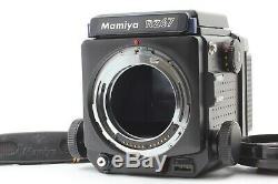 Near Mint Mamiya RZ67 Pro Body Waist Level Finder 120 Film Back From Japan