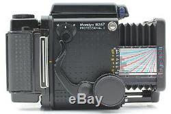 Near Mint Mamiya RZ67 Pro II withSekor Z 127mm f/3.5 W 120 Film Back Japan #1138