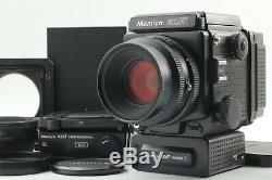 Near Mint Mamiya RZ67 Pro Sekor Z 110mm f2.8 120 Film Back x 2 from JAPAN K408