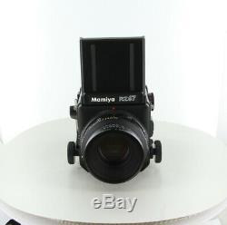 Near Mint Mamiya RZ67 Pro + Sekor Z 110mm f/2.8 W + 120 Film Back From Japan