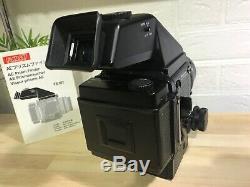 Near Mint Mamiya RZ67 pro II +AE Prism finder FE701+ 140mm M/L-A, 120 film back
