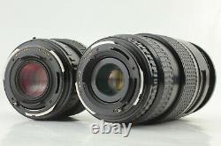 Near Mint Pentax 645N II FA 45mm, Zoom 80-160mm Strap 120 film back Japan