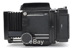 Near Mint+++ in BoxMamiya RB67 Pro SD with 120 Film Back Holder from Japan #362