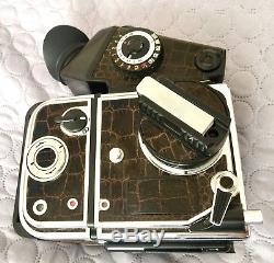 New! Kiev-88CM Set Spot TTL+Film Back 4.56 SLR Medium Format Camera Tested