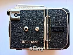New! Kiev-88CM Set VLF+Film Back SLR Medium Format Camera 6x6 Tested