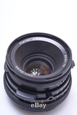 Nice Hasselblad 500cm Kit 80mm Planar T Cf, A12 Back All Black