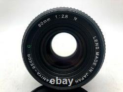 Nr MINT Mamiya 645 Pro + AE Finder + Sekor C 80mm f2.8N + 120 Back From Japan