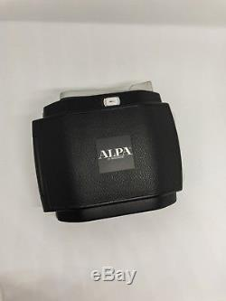 Original ALPA SWA kit with an ALPA 6x9 film back everything in great condition