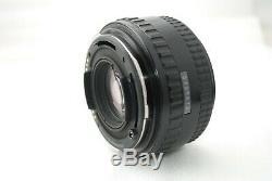 Pentax 645NII Medium Format SLR Camera Pentax FA 75mm f2.8 120 film back #3263