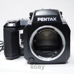 Pentax 645N Medium FOrmat Roll Film SLR camera body, Boxed, 220 Back & Remote