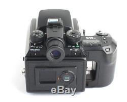 Pentax 645N Medium Format SLR Film Camera FA 75mm F2.8 120mm FILM BACK SET