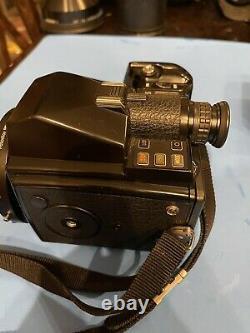 Pentax 645 Medium Format SLR Film Camera, And Two 120 Film Backs