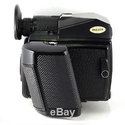 Pentax 645 Medium Format SLR Film Camera Body 1027552 + 120 Film Back Excellent
