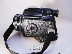 Pentax 645 medium format film camera with 75mm f/2.8 lens + back