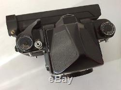 Pentax 67 6x7 SLR Film Camera Body with Polaroid Back & New Battery / Excellent+