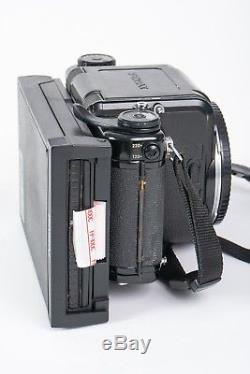 Pentax 6X7 Medium Format SLR Film Camera Body with attached NPC Polaroid back