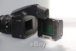 Phase One 65+digital back & body and 80mm lens