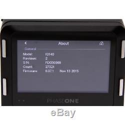 Phase One IQ140 Digital Back with Hasselblad V Mount Medium Format Digital Back