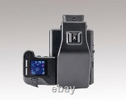Phase One IQ3 100 Digital Back with XF Camera Body 80mm Finder Case XLNT