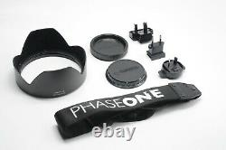 Phase One IQ3-100 Digital back, XF Camera Body+Prism Viewfinder, 80mm LS LENS 2.8
