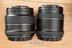 Phase One P25+ Digital Medium Format Back, DF Camera Body, 80mm F2.8, 45mm F2.8