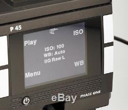 Phase One P45 Medium Format 39 Megapixels Digital Back Hasselblad ELX553 withLens