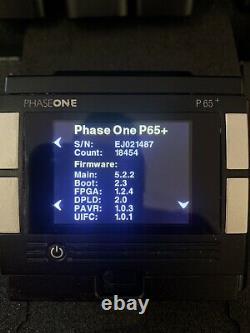 Phase One P65+ Digital Back Phase One Mount