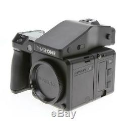 Phase One XF Medium Format Camera Body with IQ3 50MP Digital Back and Prism