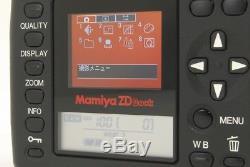 RARE! NEAR MINT Mamiya ZD Back from japan #468