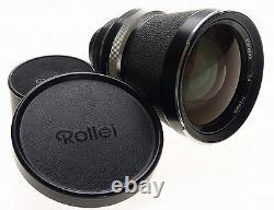 ROLLEIFLEX SL66 CAMERA MEGA KIT 5 ZEISS LENS BACKS DISTAGON 4/40mm S-PLANAR 120