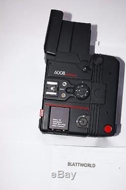 ROLLEI ROLLEIFLEX 6008 PROFESSIONAL MEDIUM FORMAT SLR CAMERA with FINDER & back