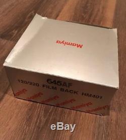 Rare Brand New Mamiya 645AF 120/220 Film Back HM401 for 645 AF AFD II III Japan