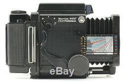 Rare! SAMPLENEAR MINT MAMIYA RZ67 PRO + SEKOR Z 110mm F2.8 + 2Film BACK JAPAN