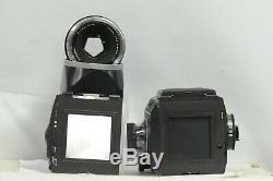 Rollei SL-66E with 120 Back, Planar HFT 80 Lens & W. L. Finder Kit