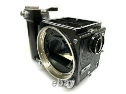 SET SALE AS-IS Zenza Bronica ETRS Body 120 Film Back + Speed Grip E from JAPAN