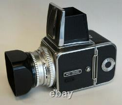 Serviced Hasselblad 500C + 80mm 2.8 and A12 back with 6 Month Warranty