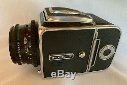 TOP MINT Hasselblad 500CM CF Planar 80mm A16 II 120 Film Back Acute Matte