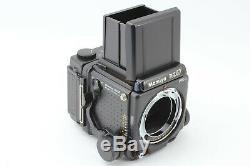 TOP MINT Mamiya RZ67 Pro II + Z 90mm F3.5 Lens 120 Film back From Japan #711