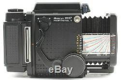TOP MINT! Mamiya RZ67 Pro II with 110mm f/ 2.8 W Lens 120 Back ×2 Polaroid Back